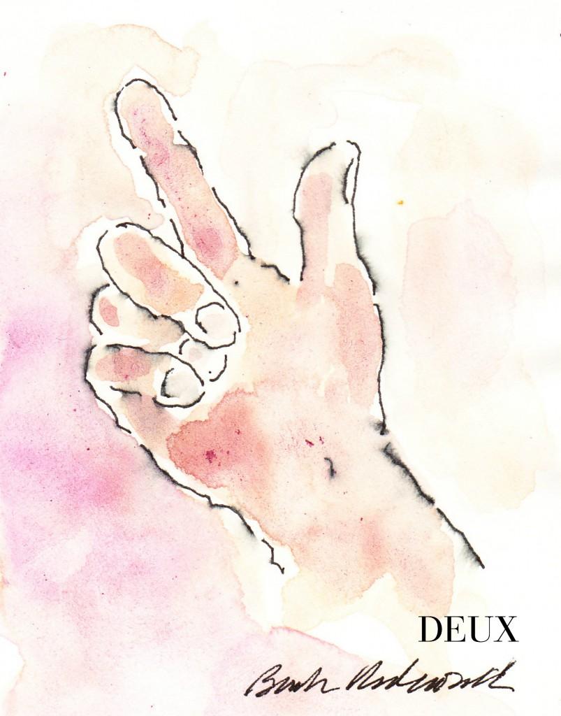 Two Deux Signature Cropped DEUX