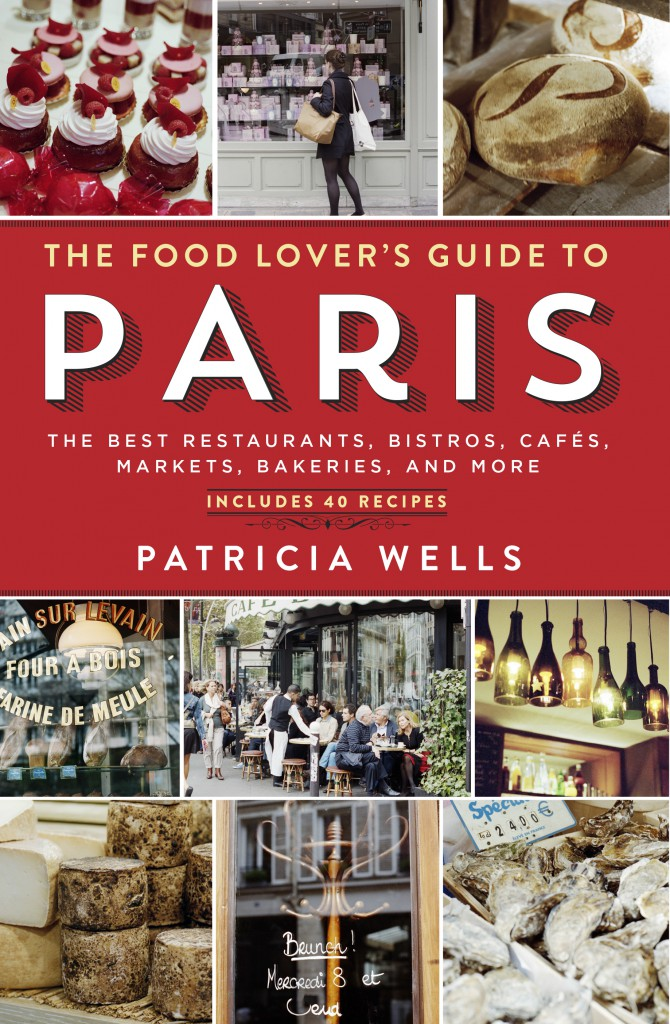 FOOD LOVER'S GUIDE TO PARIS jacket