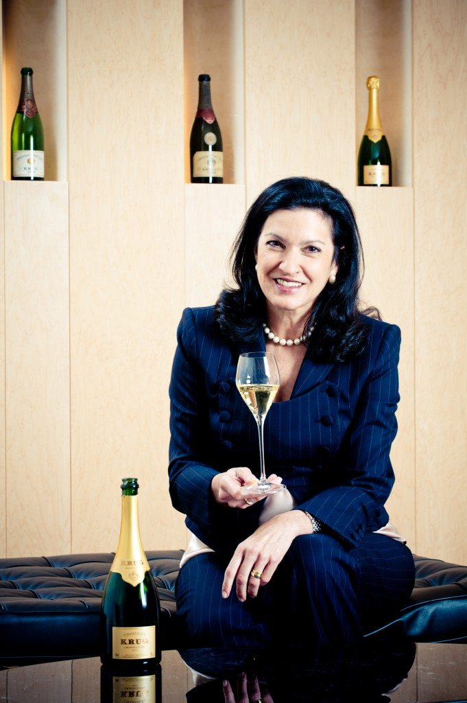 Libre de droits Margareth Henriquez_President at the House of Krug - Event Attitude